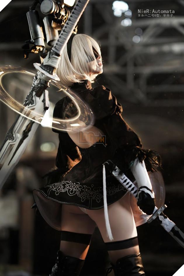 """Mãn nhãn với cosplay Nier: Automata """"chuẩn không cần chỉnh"""""""