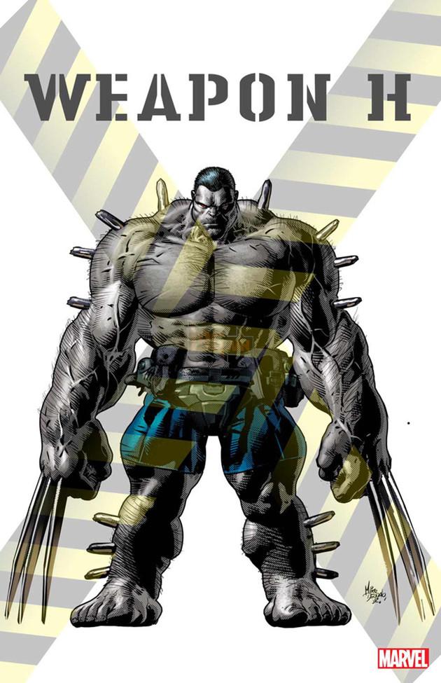 """Weapon H, phiên bản """"hợp thể"""" của Wolverine và Hulk cuối cùng cũng lộ diện"""