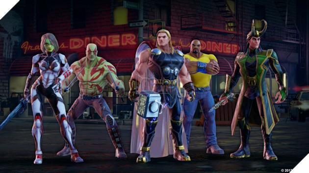 Marvel Strike Force - Thêm một game nhập vai hấp dẫn lấy bối cảnh vũ trụ Marvel