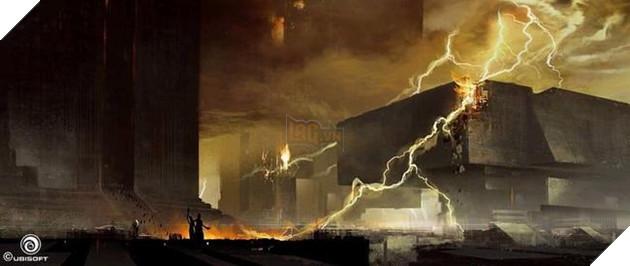 Hình ảnh minh họa sự hủy diệt của Nền văn minh Đầu tiên