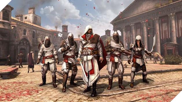 Ezio đã trở thành thủ lĩnh Hội Sát thủ, quét sạch Templar ra khỏi đất Ý và Tây Ban Nha