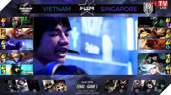 Hủy diệt Singapore 3-0 ở Chung Kết All-Star, đội tuyển Việt Nam chính thức đi Siêu Sao Đại Chiến thế giới, tái ngộ Faker thật rồi