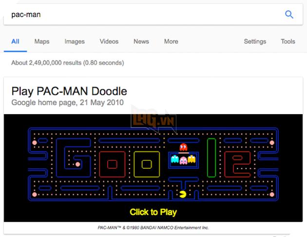 7 trò chơi lẩn trốn trên trang tìm kiếm Google mà bạn không hề hay biết - Ảnh 3.