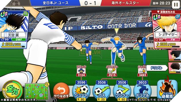 """Captain Tsubasa: Dream Team - Huyền thoại """"bóng đá chưởng"""" ấn định thời điểm ra mắt trên Mobile"""
