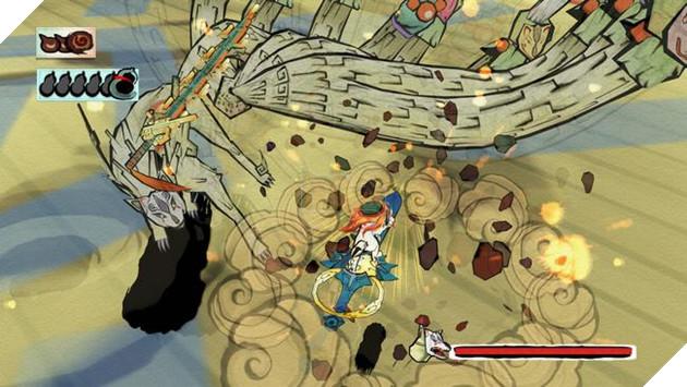 Lối chơi củaOkami HDđược giữ nguyên so với bản gốc, với đồ họa nâng cấp rõ nét
