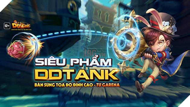 Garena DDTank: Tựa game bắn súng theo tọa độ chuẩn bị bước vào giai đoạn Closed Beta