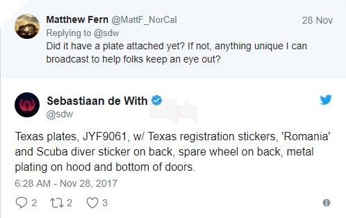 Nhờ Twitter và Reddit, chàng trai tìm thấy chiếc xe bị mất cắp trong chưa đầy 24 giờ - Ảnh 3.