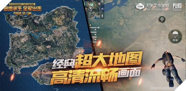 """Tencent công bố tên gọi chính thức của PUBG Mobile """"bản xịn"""""""
