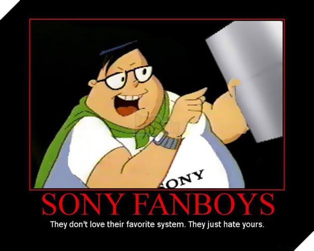 Ví dụ đặc trưng cho Sony Fanboys