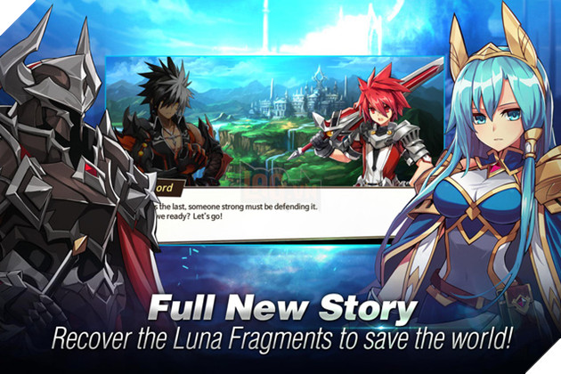 Elsword M: Shadow of Luna - Siêu phẩm MMORPG Anime từ NEXON vừa ra mắt bản tiếng Anh