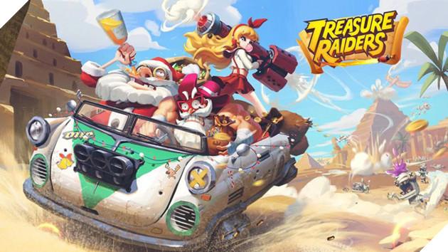 Treasure Raiders - Vào vai thợ săn kho báu trong game bắn súng đồ họa Chibi cực sắc màu