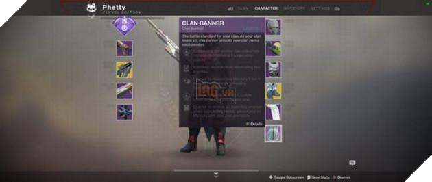 Destiny 2: Chi tiết phần thưởng Clan trong Season 2