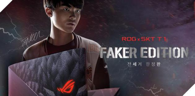 Thảm bại ở TKTG, Faker bất ngờ đi quảng cáo laptop chơi game