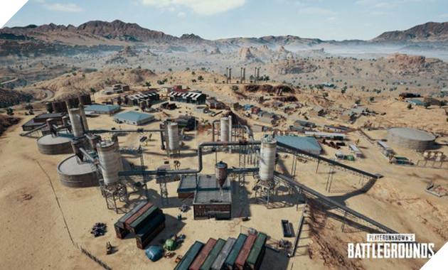Vài ngày trước khi ra mắt, bản đồ sa mạc PUBG đã có tên chính thức