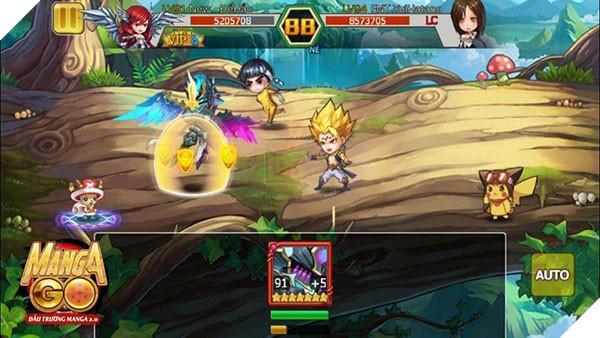 Không chỉ đem đến những gương mặt quen thuộc, Manga GO còn cho phép người chơi dung hợp các nhân vật để tạo ra hàng loạt vị tướng siêu khủng mà chỉ fan cuồng Manga/Anime mới biết