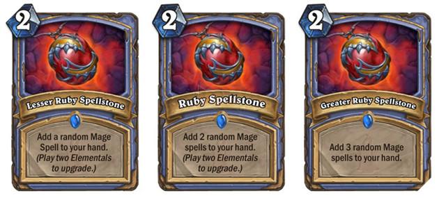 Những Spellstone khi được nâng cấp lên cực kì mạnh.