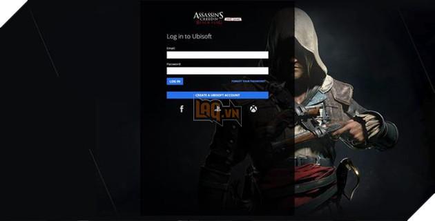 Truy cập E-mail và mật khẩu tài khoảnUplayhoặc tạo một cái