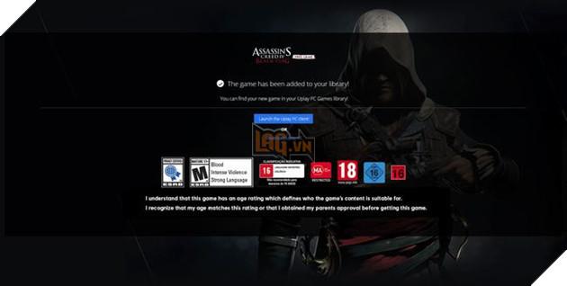 Nếu bạn đã bỏ game vàoLibrary, hệ thống sẽ nhắn nhở