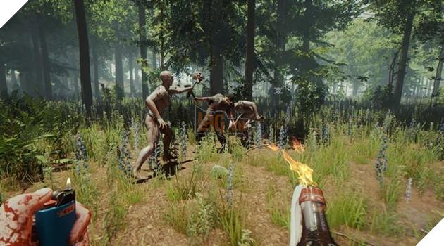 Tựa game kinh dị sinh tồn thế giới mở The Forest sắp lên PS4