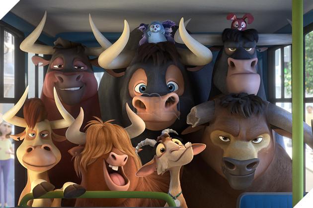Review Phim Ferdinand : Hành trình của chú bò tót yêu hoa cỏ 2
