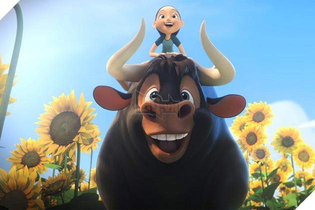 Review Phim Ferdinand : Hành trình của chú bò tót yêu hoa cỏ 3