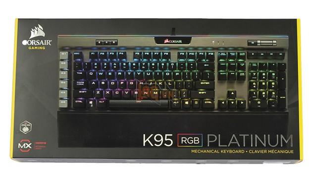 Review Corsair K95 RGB Platinum Gunmetal Speed Switch: Bàn phím cơ max ping cho game thủ  2