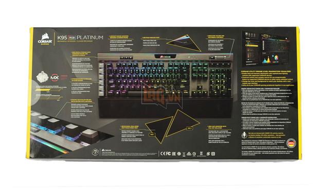 Review Corsair K95 RGB Platinum Gunmetal Speed Switch: Bàn phím cơ max ping cho game thủ  3