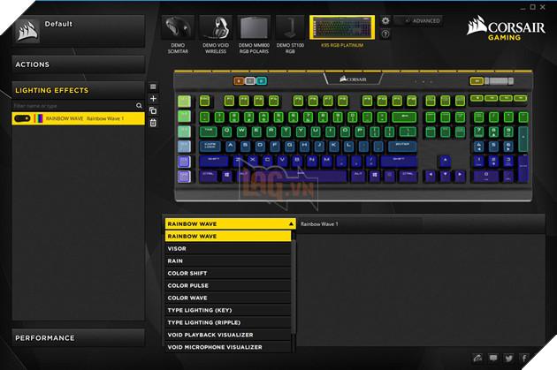 Review Corsair K95 RGB Platinum Gunmetal Speed Switch: Bàn phím cơ max ping cho game thủ  27