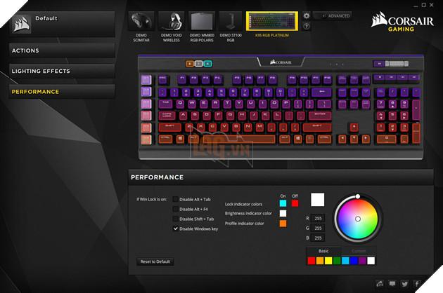 Review Corsair K95 RGB Platinum Gunmetal Speed Switch: Bàn phím cơ max ping cho game thủ  28