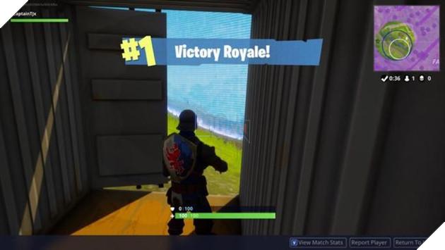 Kì lạ người chơi giành chiến thắng trongBattle RoyalecủaFortnitemà không giết một ai