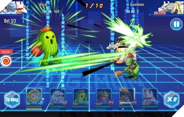 Thú Vương Đại Chiến đổi tên thành Digi Đại Chiến, ra mắt trên cả iOS và Android 4
