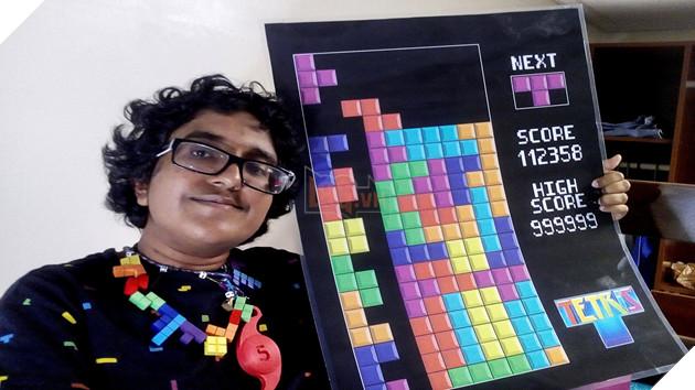 Cô gái mê xếp hình đến nỗi muốn kết hôn với game Tetris - Ảnh 2.