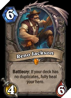 RenoJackson ra đời khiến cho những deck Control có một bộ mặt mới.