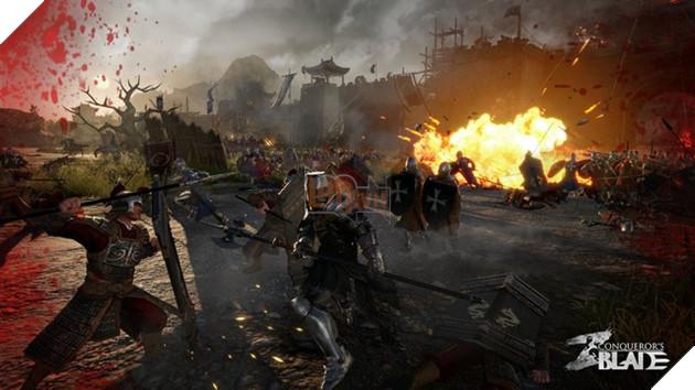Conqueror's Blade - Game công thành chiến đỉnh sắp thử nghiệm trong tháng 1 này