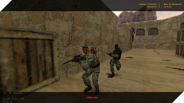 Đừng đùa với dàn BOT trong Counter Strike 1.6