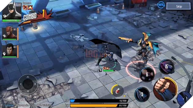 Cận cảnh DC Unchained - Game mobile đề tài siêu anh hùng trong ngày Closed Beta