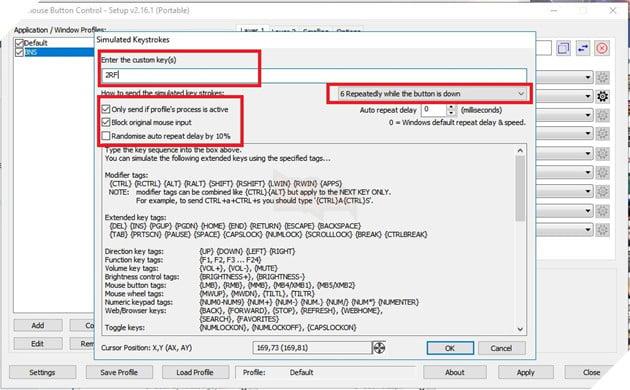 BnS: Tổng hợp Auto Combo Macro cho tất cả class với Xmouse Control