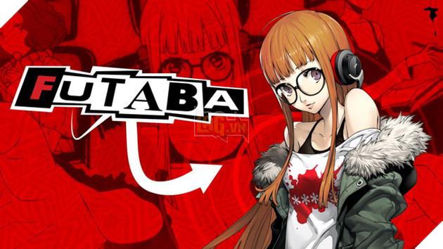 Hình ảnh nhân vật Futaba Sakura vô cùng độc đáo và dễ thương