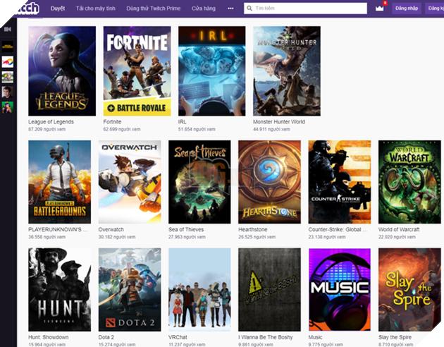 DOTA 2 lần đầu tiên trong lịch sử bị đá bay khỏi top 10 game được xem nhiều nhất trên Twitch.