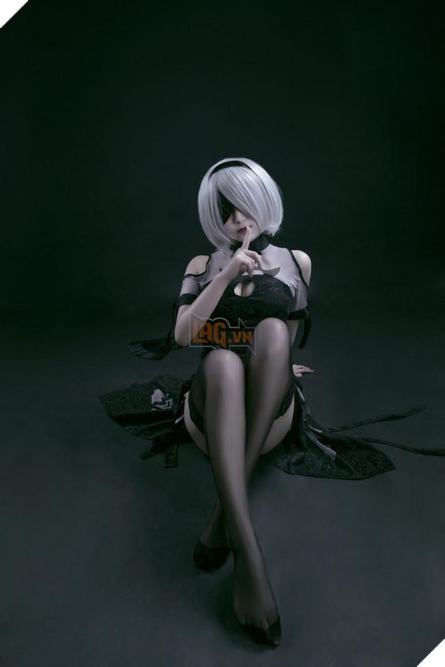 Cùng ngắm cosplay Nier: Automata cực gợi cảm, đốn tim fan hâm mộ
