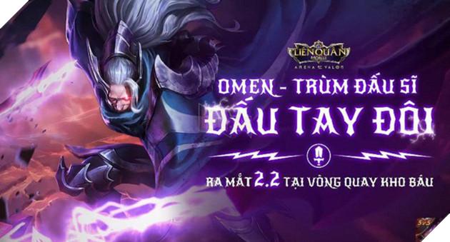 Liên Quân Mobile: Tướng mới Omen sẽ được đưa vào Kho Báu thay vì bán bằng quân huy