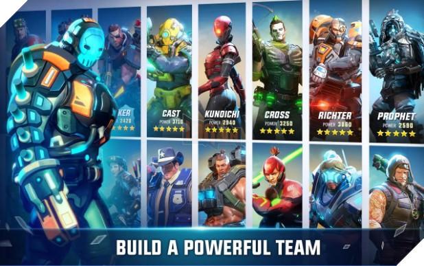 Hero Hunters - Game bắn súng đấu đội đồ họa siêu đẹp ra mắt toàn cầu
