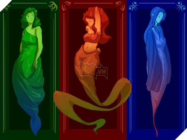 3 vị thần sáng thế Din, Nayru và Farore