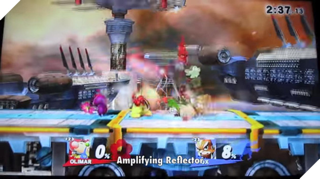 Thủ thuật bạn có thể tham khảo với Olimar trong Super Smash Bro