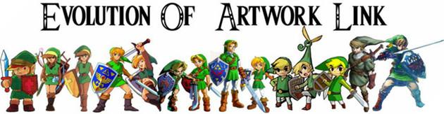 Anh chàng Link thay đổi trong từng phiên bản