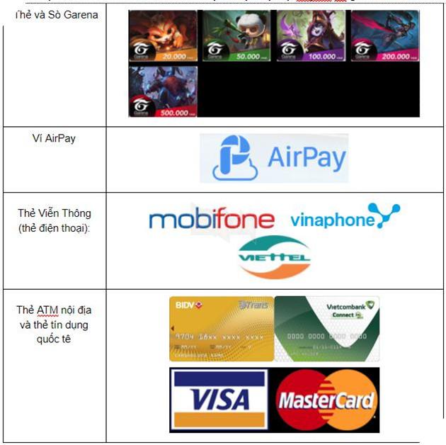 Âm Dương Sư: Cách nạp thẻ cho game mà tiết kiệm và tránh sai sót nhất 4
