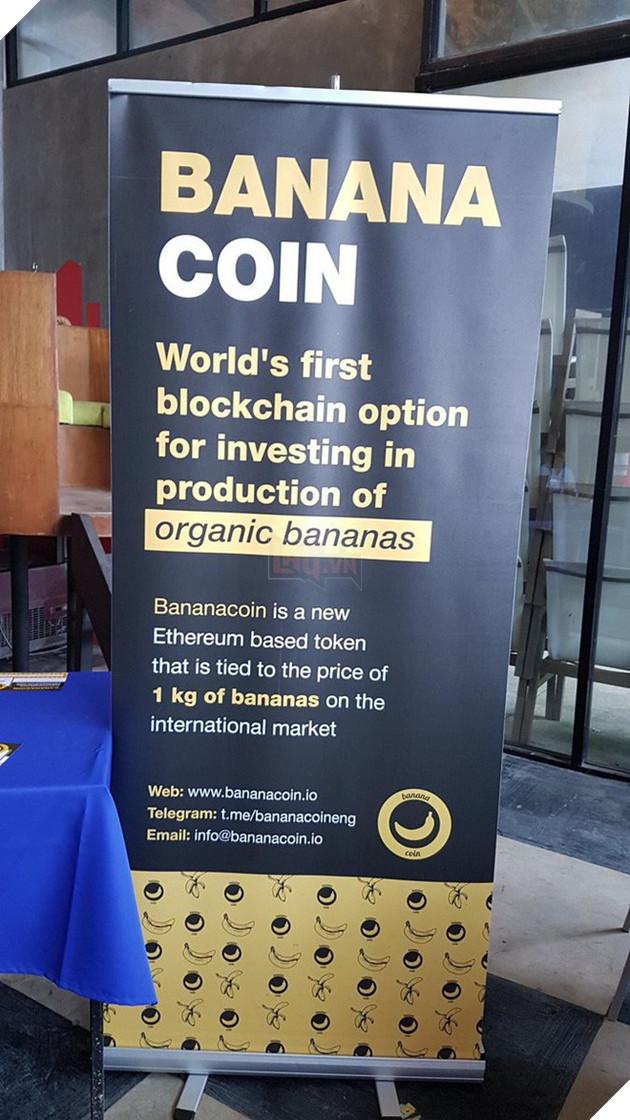 Bananacoin - Đồng tiền chuối, có trị giá bằng 1 cân chuối - Ảnh 3.