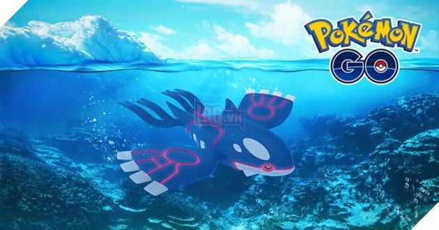 Pokemon huyền thoại Kyogre sẽ rời khỏi Pokemon GO vào khoảng 14 - 15 tháng 2