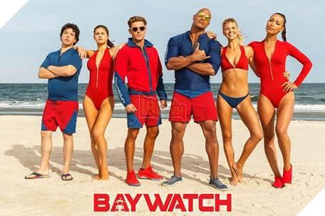 The Rock và Zac Efron nổi bật trong Baywatch bên những cô đào nóng bỏng