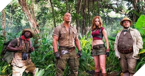 The Rock tiếp tục xuất hiện và mang lại thành công cho Jumanji: Welcome to the Jungle